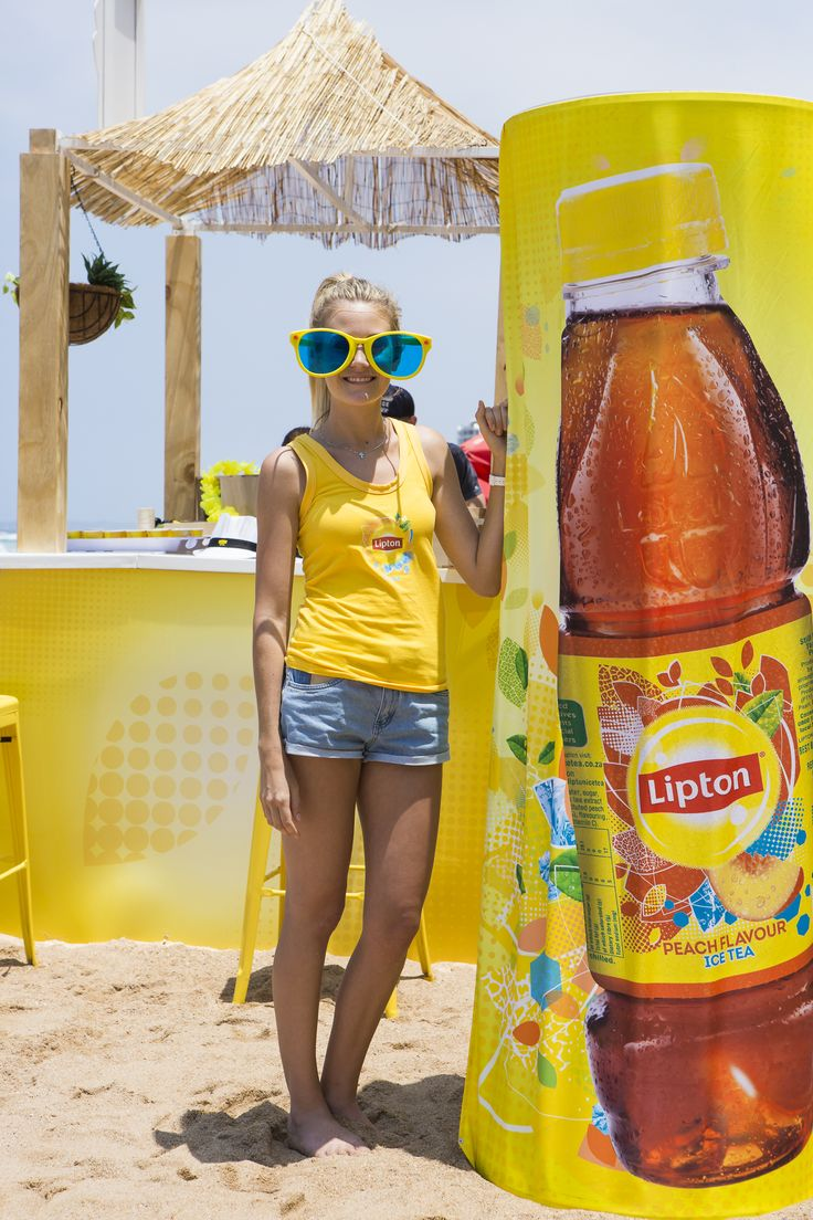 Taste the Brightside | Lipton Summer 2014 | Umhlanga Beach - Sampling Activation