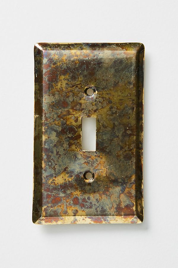 7 Light Switches To Jazz Up Your Rental In A Small But Meaningful Way Switch Plates Decorative Switch Plate Light Switch Covers