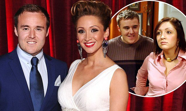 Coronation Street couple Alan Halsall and Lucy-Jo Hudson split