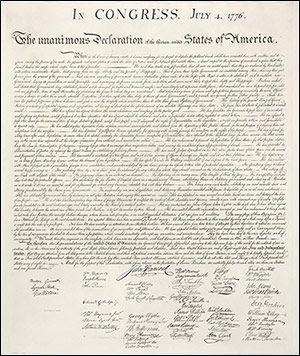 Deklarace nezávislosti je jedním z nejzásadnějších dokumentů historie Spojených států amerických. Celkem třináct kolonií v ní deklarovalo svou nezávislost na Velké Británii. Deklarace byla přijata Kongresem 4. července 1776.   https://www.facebook.com/events/1676297882626898/   #declaration #independence #usa #history #congress #flowinghair2016 #tour2016 #prague #mostexpensivecoin
