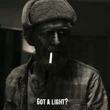 Got a light? The Woodsman, Twin Peaks