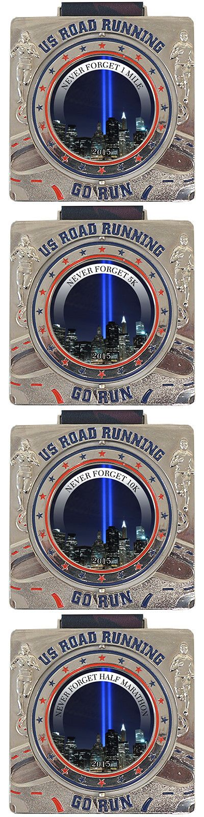 US Road Running - Never Forget Virtual Race