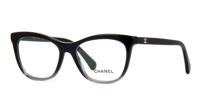 Chanel 3341 1561 Black and Grey Gradient Glasses | Pretavoir