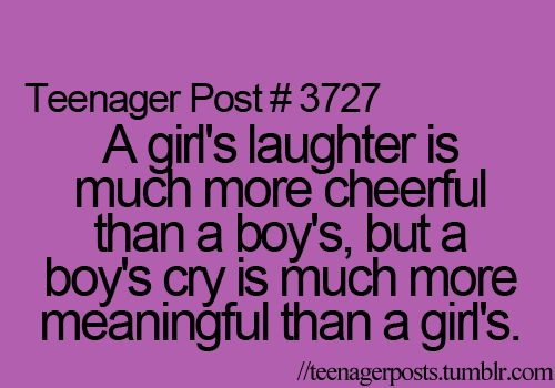 Guys think it's not manly to cry but it's one of the most attractive things on the world