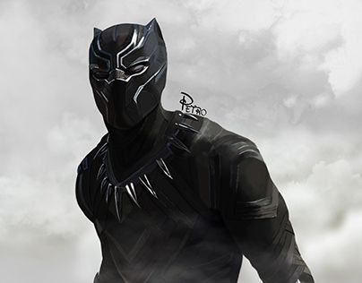 "Check out new work on my @Behance portfolio: ""Black Panther"" http://be.net/gallery/41064901/Black-Panther"
