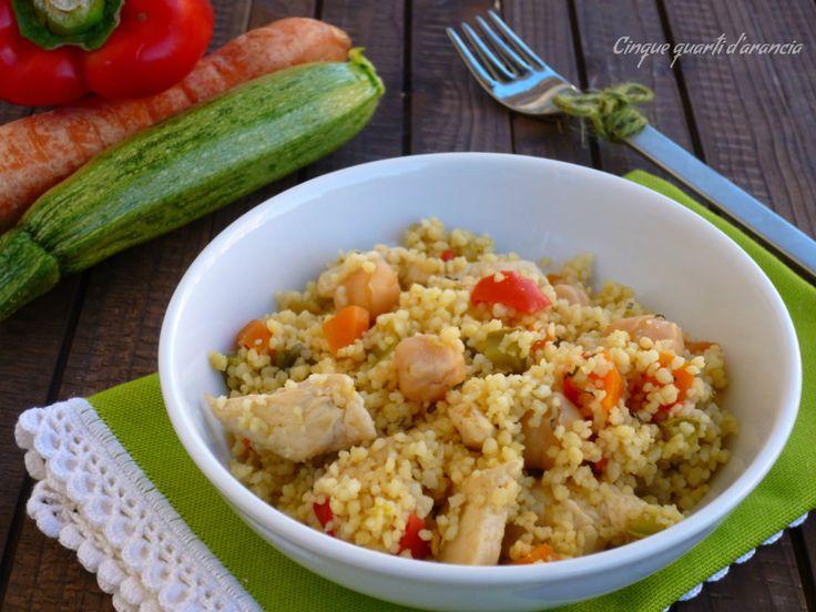 Ilcous cous pollo e verdure è un primo piatto perfetto per un pranzo gustoso e semplice, un eventuale piatto unico fresco e nutriente!! Io lo adoro e lo r