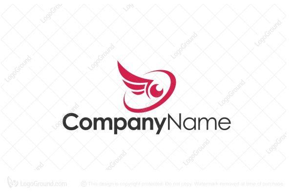 Logo for sale: Eagle Eye Wings Logo
