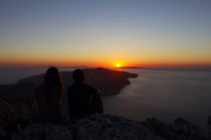 #Sunset #Folegandros #Romance #AegeanSea #Cyclades #Greece Photo credits: Nikos Maras