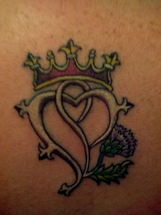 My new ink! Luckenbooth Scottish Symbol Tattoo <3 LOVE <3 this so much