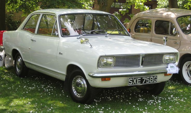 Vauxhall Viva (1968 Model). My dad owned one. 60s and 70s were still brit car days.