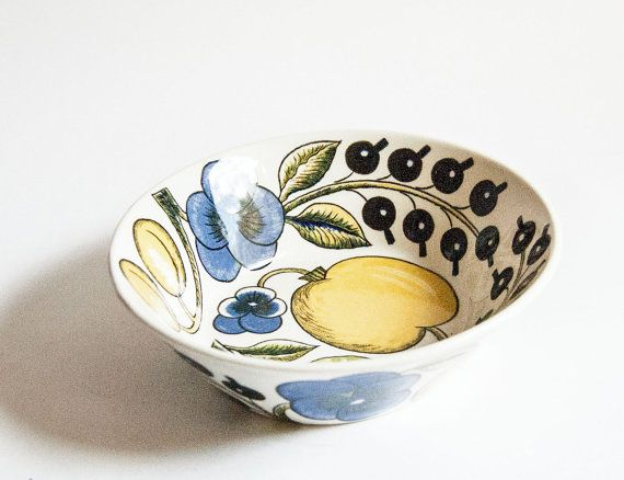 Arabia Finland Paratiisi Bowl by ultralounge on Etsy, $42.00