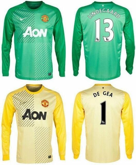 I quite like the new Manchester United keeper kits