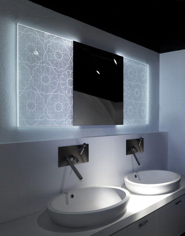 best 25+ backlit bathroom mirror ideas on pinterest | backlit