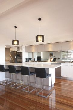 Counter Stool Island Design Ideas, Pictures, Remodel, and Decor
