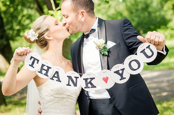 Thank you girlande danke girlande wedding hochzeit renna deluxe