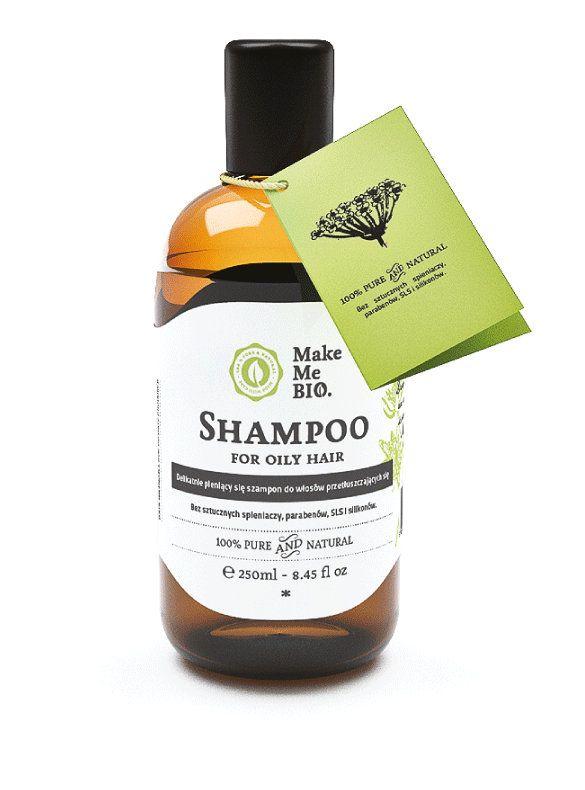 Szampon do włosów przetłuszczających się - Nieprzyzwoicie naturalny sklep dla kobiet lubiących siebie
