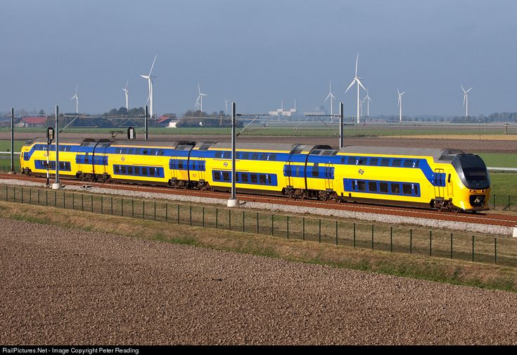 RailPictures.Net Photo: Dutch Railways (NS) Bombardier VIRM Electric Multiple Unit at Dronten, Netherlands by Peter Reading