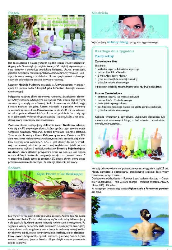 Katarzyna Węglarz radzi jak wykorzystać produkty Forever, żeby czuć się pięknie i zdrowo. Zapoznaj się z jej sposobami na piękno Forever. Jesli masz więcej pytań skontaktuj się z nami przez stronkę http://aloesurodazdrowie.com/
