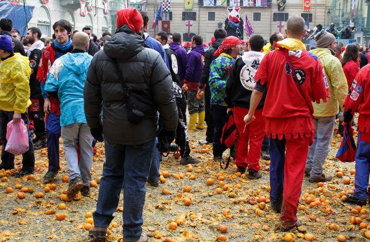 Lo Storico #Carnevale D'Ivrea è un  #evento unico riconosciuto come manifestazione italiana di rilevanza internazionale.