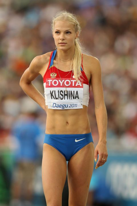 15 of the most beautiful olympians: Darya Klishina, long jump Russia