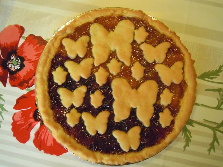 CROSTATA SENZA BURRO  http://creandosicrescecrescendosicrea.tumblr.com/post/45903429506/pasta-frolla-senza-burro-ricetta-per-una-crostata