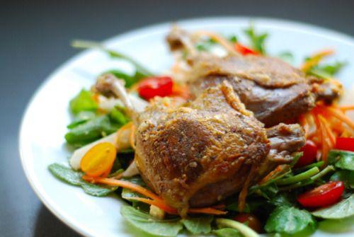 Thai-Inspired Crispy Duck & Arugula Salad | Award-Winning Paleo Recipes | Nom Nom Paleo
