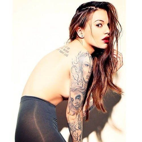 59 best images about my rebecca fox obsession on pinterest for Best tattoo magazine