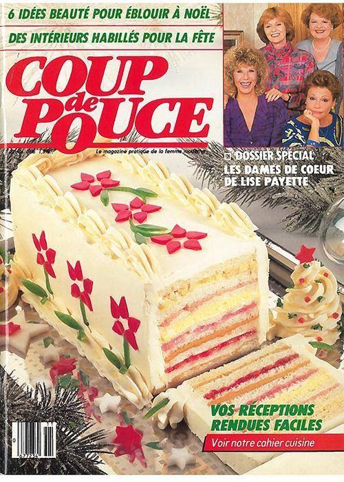 Pain-sandwich pour le réveillon de Noël! Recette classique de 1986.