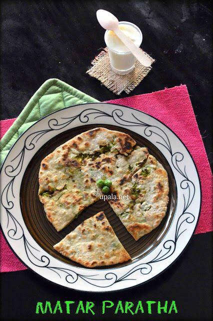 Matar ka paratha/Stuffed Green peas paratha (No Onion No Garlic)    http://www.upala.net/2016/06/matar-ka-parathastuffed-green-peas.html