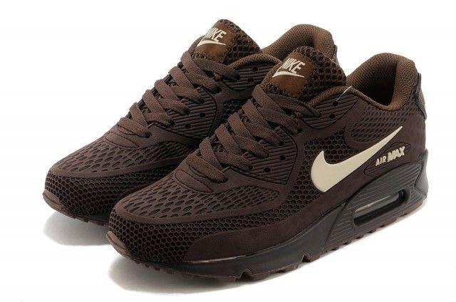 Nike Air Max 90 Dark Brown Men S Running Shoes In 2020 Nike Air Max 90 Mens Nike Air Max Nike Air Max 90s