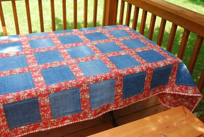 Feels Like Home: Vintage Denim Quilt