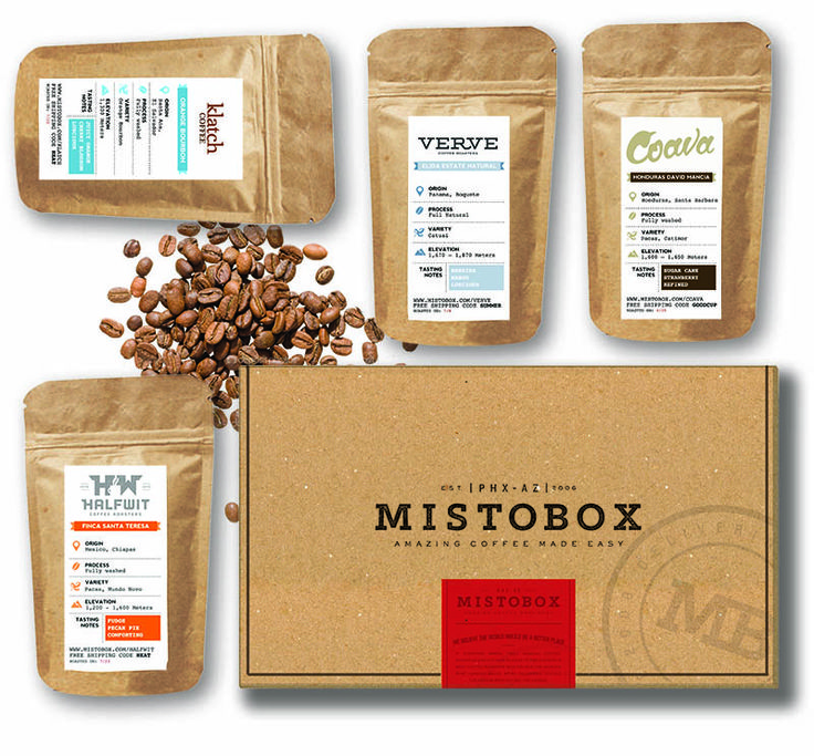 Gift idea: Coffee of the Month Club from Mistobox