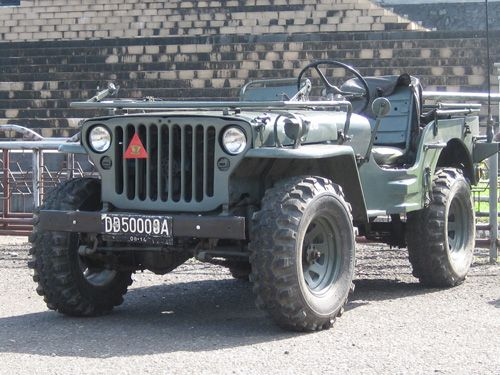 1944 Willys MB - Photo submitted by Zaenuddin Dahlan.