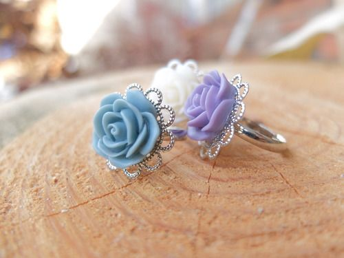Rose Ring. All Proceeds from jewelry sales go to safe homes against human trafficking in the Dominican Republic.