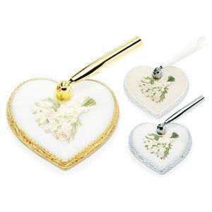 Pastel Bridal Bouquet Heart Base (3 different base options & different pen options)