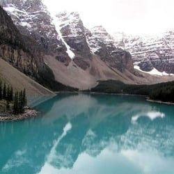 Au Canada, le lac Moraine