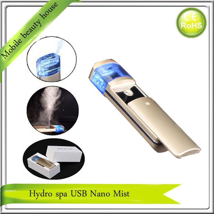 Nano Handy Mist Spray Atomization Facial Mister Eyelash Extensions Humectant Steamer Moisturizing Eyes Beauty Instrument #Affiliate