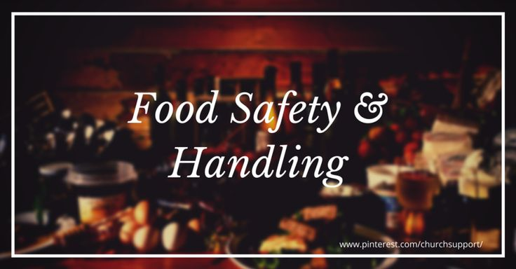 Food Safety & Handling