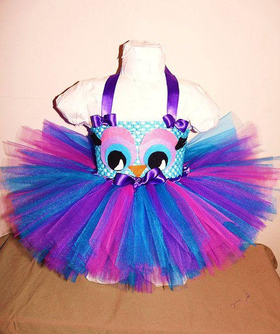 Owl Party - Owl Tutu Idea for Aria's First Birthday
