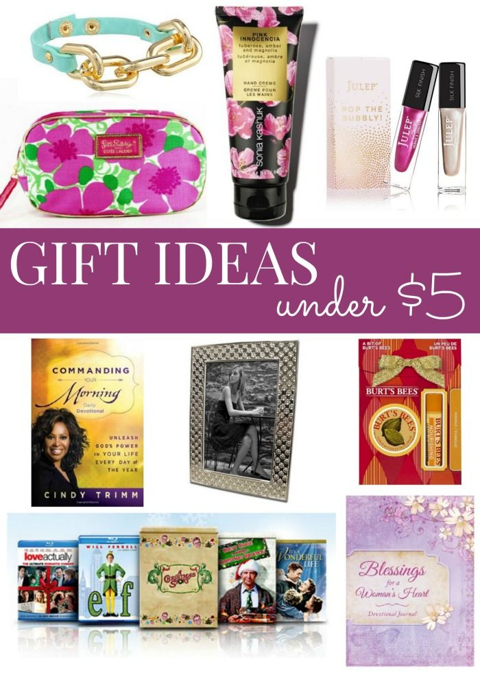 Gift Ideas Under 5 Cheap And Easy Gift Ideas For Any