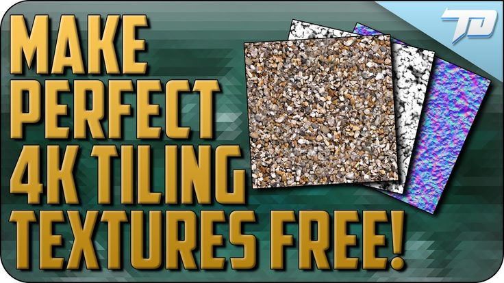 Create Seamless Tiling Texture Maps Free | Bitmap to Material Tutorial