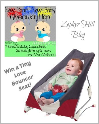 Win a Tiny Love bouncer for your baby! #giveaway @Tiny Love