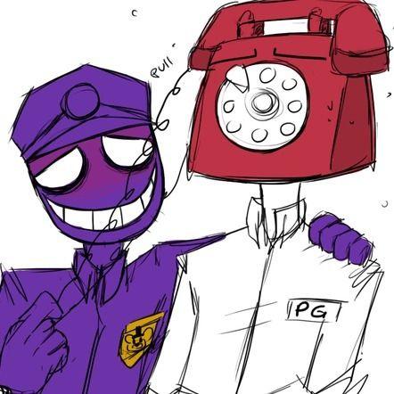 More fnaf rebornica vincent purpleguy guy vincent phone guys guy fnaf