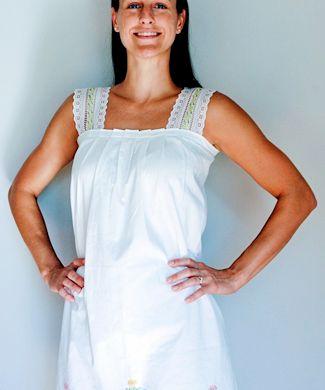A Simple  Pillowcase Dress DIY
