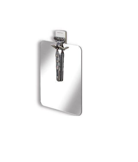 Better Living 13545 The Shower Mirror, Acrylic Chrome