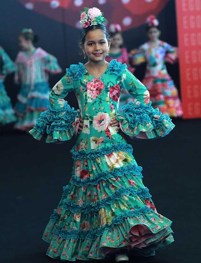 Conoce las tendencias en moda flamenca infantil para este 2017 (Rocío Ruz / Raúl Doblado)
