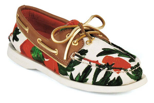 RAD boat shoes.