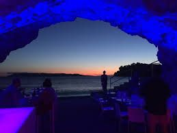 Deep Bar in Makarska, Croatia is now one of my favorite bars in the world! The bar is built into a cave looking out to the sea - stunning!