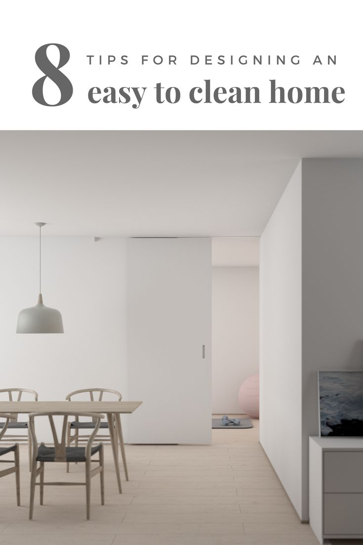 8 tips for designing an easy to clean home | 3 home design mistakes | home design tips | wall hung toilet | wall hung vanity | self-opening garbage | under-mount sink | designing a home that is easy to clean | home fixtures that are easy to clean | ourguidetotheeveryday.com