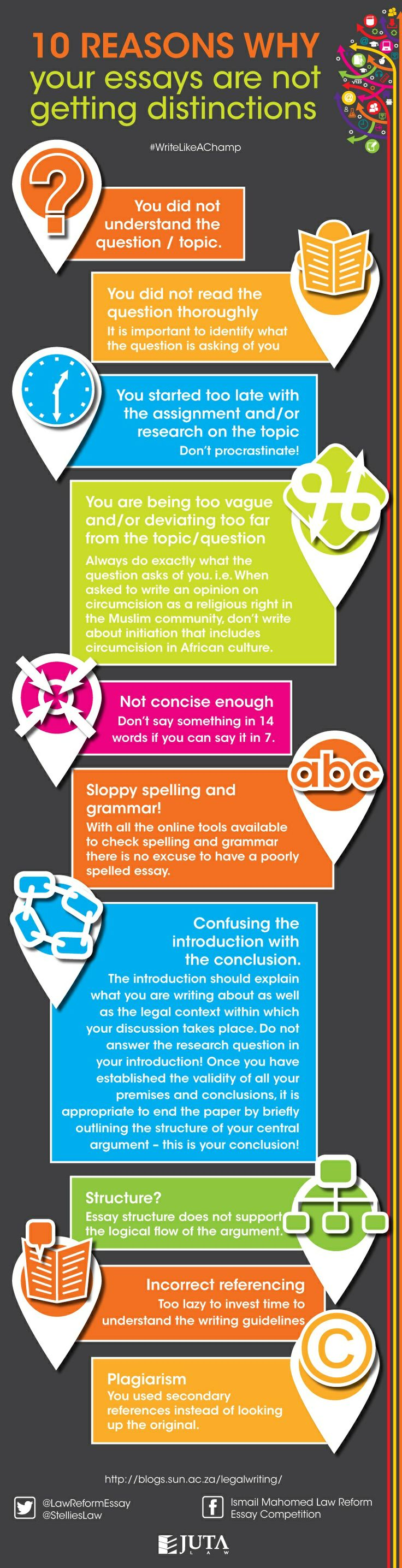 17 best images about legal essay writing guidelines infographic the help of stellieslaw we listed the 10 reasons why your essays